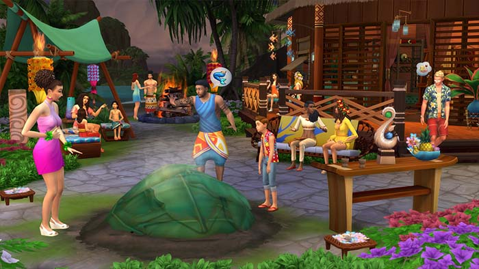The Sims 4: Island Living Update.V1.56.52.1020-CODEX