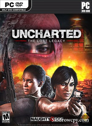 Uncharted The Lost Legacy Pc DVD cover